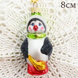 "Елочная игрушка ""Пингвин"", арт. 1447. ID2050"