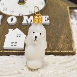 """Елочная игрушка """"Собака пудель"""" малютка мини арт. 1469 ID4266"""