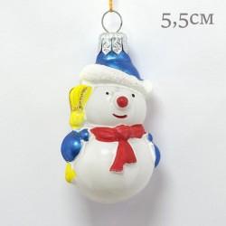 "Елочная игрушка ""Снеговик"", арт. 1469 ID2124"