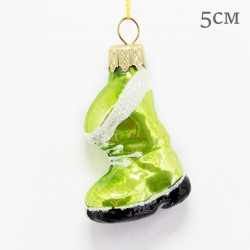 "Елочная игрушка ""Сапог"" зеленый, арт. 1469 ID2122"