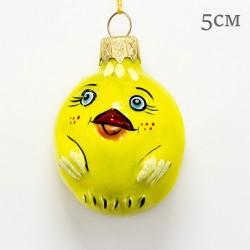 """Елочная игрушка """"Цыпленок колобок"""", арт. 1469 ID2118"""
