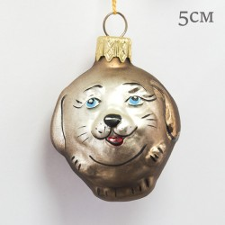 "Елочная игрушка ""Собака колобок"", арт. 1469 ID2116"