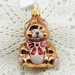 """Елочная игрушка """"Медведь с бантом"""", арт. 1447 ID3645"""