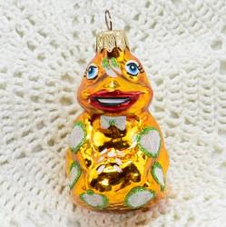 """Елочная игрушка """"Царевна Лягушка"""" золото, арт. 1447 ID3647"""