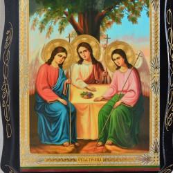 """Икона на дереве """"Святая троица"""" 22х17см., арт. 4797"""