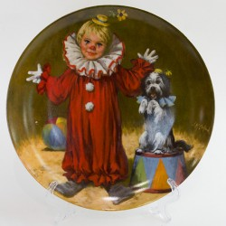 "Тарелка декоративная ""Tommy the Clown"" арт. 1514"