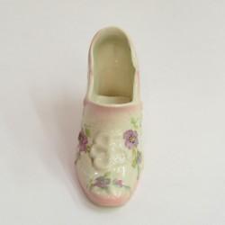 """Статуэтка """"Туфелька"""" розовая в с цветами, арт. 1552"""