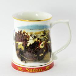"Кружка пивная ""Great Battles of the British Army"" SUDAN, арт. 1554/1"