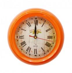 Часы настенные, цвет оранжевый, ID 3313