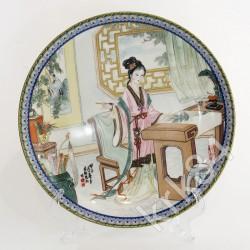 """Тарелка """" Гейша"""", арт. 1626/3"""