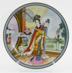 """Тарелка """" Гейша"""", арт. 1626/5"""