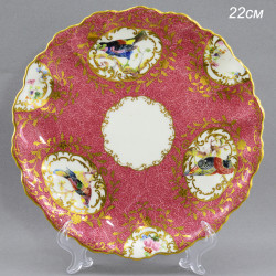 "Тарелка ""Птицы в цветах"" 22см., арт. 1635"