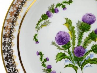 "Тарелка ""Цветы. Чертополох"", арт. 1641"