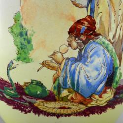 """Ваза """"Укротитель змей"""" 22,5см., арт. 1643"""