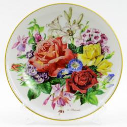 """Тарелка декоративная """"Цветы. Летнее великолепие"""", арт. 1647"""