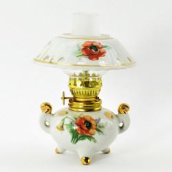 """Лампа масляная с абажуром """"Маки"""", арт.1657"""