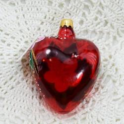 "Елочная игрушка ""Сердце красное"", арт. 1470 ID3707"