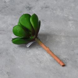 """Цветок искусственный суккулент """"Эхеверия - каменная роза"""" 12,5см, арт. 5663/2"""