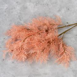"""Цветок искусственный ветка """"Укроп. Дымная трава"""" персик 97 см, арт. 5645"""