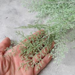 """Цветок искусственный ветка """"Укроп. Дымная трава"""" зеленая 97 см, арт. 5645"""
