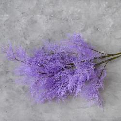 """Цветок искусственный ветка """"Укроп. Дымная трава"""" сирень 97 см, арт. 5645"""