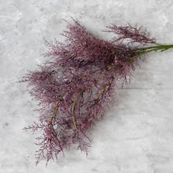 """Цветок искусственный ветка """"Укроп. Дымная трава"""" бордо 97 см, арт. 5645"""