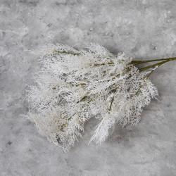 """Цветок искусственный ветка """"Укроп. Дымная трава"""" белая 97 см, арт. 5645"""