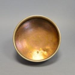 Латунный никелированный капельник, полоскательница для самовара, арт. 1721/1