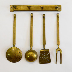 Бронзовый кухонный набор, арт. 1745