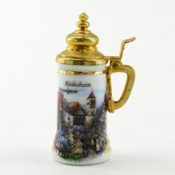 "Кружка пивная - миниатюра ""Rudesheim. Drosselgasse"", арт. 3387"