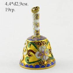 """Колокольчик миниатюрный """"Клуазоне"""", арт. 3393"""