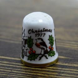 "Наперсток ""Christmas 1977"""