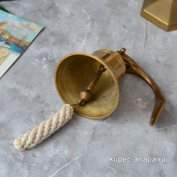 Рында латунь античная 10см, арт. 5808