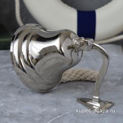 Рында латунь/никель 10см, арт. 5807