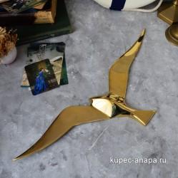 """Панно """"Чайка"""" латунь 50см, арт. 5803"""