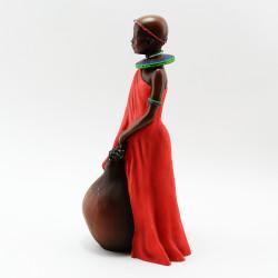 "Статуэтка ""Африканец"" 25см., арт. 1810"