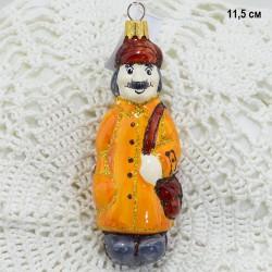"""Елочная игрушка """"Почтальон Печкин Простоквашино"""" коричневый, арт. 1438 ID3810"""