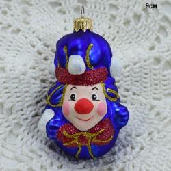 "Елочная игрушка ""Клоун"" синий, арт. 5311 ID3720"