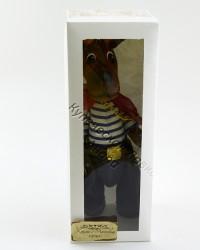 Текстильная кукла ручной работы Пес моряк, ID 3060/2