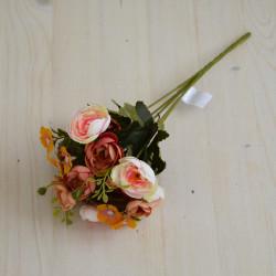 """Цветок искусственный букет """"Камелия"""" 29см, арт. 5659/1"""