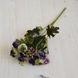"""Цветок искусственный букет """"Камелия"""" 29см, арт. 5659/2"""