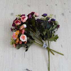 """Цветок искусственный букет """"Камелия"""" 29см, арт. 5659/3"""