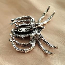 """Брошь - подвеска """"Галиотис"""" паук арт. 5480"""