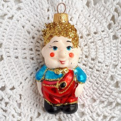 """Елочная игрушка """"Карлсон""""синий, арт. 1447 ID3681 /1"""