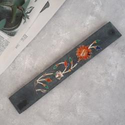 """Подставка для благовоний """"Цветок"""" камень. арт. 0608"""