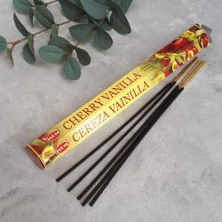 Благовония шестигранник Cherry Vanilla Ванильная вишня, арт. 0593