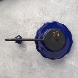 """Вешалка - крючок """"Керамика"""" кобальтовый цветок арт. 4599"""