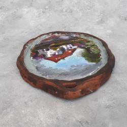 "Картина - панно ""Домик"" керамика, 5704/4603"