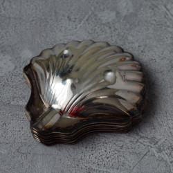 """Икорница порционная """"Раковина"""" набор 6шт, серебрение, арт. 5633"""
