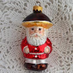 """Елочная игрушка """"Старик Боровик. Гриб"""" красный, арт. 6030 ID3744/4165"""